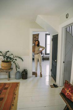 The Catskills Farmhouse of Two Brooklyn Creatives, Weekend DIY Edition
