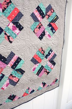 Blossom Quilt from Fat Quarter Style book by Diary of a Quilter