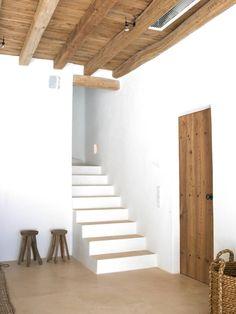 • Ibiza, Casa Petra, Stairs And Doors, Interior And Exterior, Interior Design, Mediterranean Homes, Stone Houses, Modern Rustic Interiors, Design Consultant