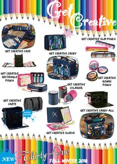 Calling all Crafters! Thirty-One has the perfect thing for YOU! Shop today w Cindy Muniz Thirty One Fall, Thirty One Totes, Thirty One Party, Thirty One Gifts, Ninja Turtle Party, Turtle Birthday, Birthday Bag, Thirty One Organization, Organizing