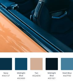 Luxury Brand Inspiration For Your Web Design Colour Scheme. Take A Look At Our Luxury Brand Inspired Colour Palettes For Inspiration & Ideas. Blue Contrast Color, Blue Colour Palette, Blue Color Schemes, Luxury Branding, Branding Design, Back Toning, Web Design Color, Luxury Website, Website Color Schemes