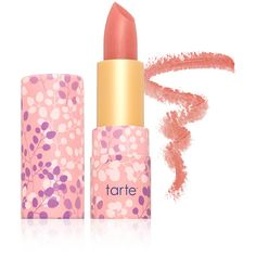 Tarte Cosmetics Tarte Cosmetics Amazonian Butter Lipstick - Angelic... (24 CAD) ❤ liked on Polyvore featuring beauty products, makeup, lip makeup, lipstick, lip, tarte, tarte lipstick and moisturizing lipstick