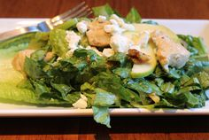 Chicken, goat cheese and apple salad with toasted walnuts ~ Good site with lots of recipes including gluten free