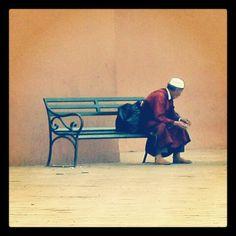 #portrait of a Moroccan #Marrakesh, #Morocco, 2003. - @ruben_i- #webstagram