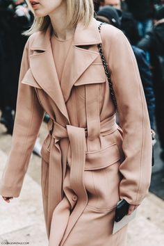 Nude coat.