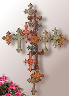 Nautical Wall Art Decor - Ideas on Foter Cross Wall Decor, Crosses Decor, Wall Crosses, Wall Art Decor, Iron Wall Art, Old Rugged Cross, Nautical Wall Art, Sign Of The Cross, Cross Art