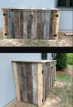 15 Best Looking Ways To Hide Trash Cans Outside