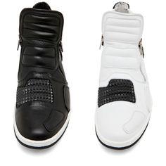 """Neil Barrett """"Dickensian"""" Pyramid Studded Sneakers"""