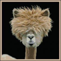 Just A Bad Hair Day - Counted Needle Point and Cross Stitch Chart Patterns