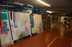 Studio - Studio Clare O'Connor Painters Studio, Studio Studio, Studios, Basketball Court, Studio
