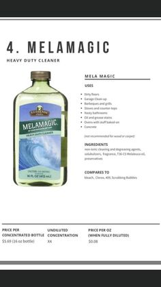 House Cleaning Tips, Cleaning Products, Cleaning Hacks, Melaluca Products, Melaleuca The Wellness Company, Clean Garage, Grease Stains, Clean Machine, Natural Living