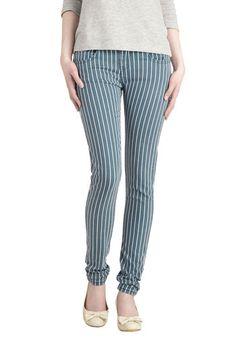Line over Matter Pants, #ModCloth