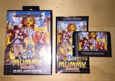 Sega Mega Drive OH MUMMY GENESIS completo complete Megadrive Genesis RARE NEW