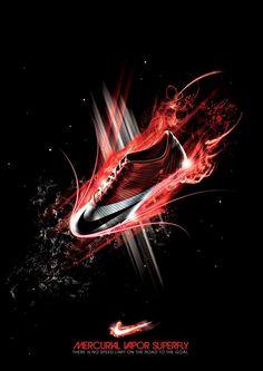 Nike Mercurial Vapor Advertisement by Sahata Resvino, via Behance