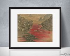 Valley of Blood  8x10 Print by DMoSan on Etsy