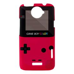HTC One X Cover - Game Boy HTC One X Case - Pink Game Boy Htc One X Case Cover - Htc One X Game Boy Pink Case. $16.88, via Etsy.