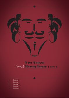 Posters // Facelettering by Paolo Marini, via Behance