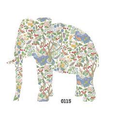 Elephant Wall Decal - Josef Frank