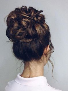 prom hair 43 Cutest Trendy High Bun Up Do Hairstyle For You May Love - Hairstyle 20 , ! Hope You Love these Hairstyle ! High Bun Hairstyles, Wedding Bun Hairstyles, Prom Hair Updo, Hairstyles Haircuts, Up Hairstyles For Prom, Trendy Hairstyles, Beautiful Hairstyles, Black Hairstyles, Curly Hair Styles