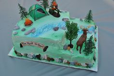 """Perfect Grooms Cake! """"The Hunt is Over"""""""