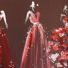 Red of passion-Paper fashion <3 it