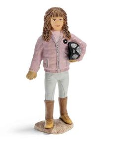 Amazon.com: Schleich Farm Life Accessories: Rider with Pink Jacket: Toys & Games