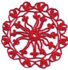 Motivo Ronda, #free #crochet #pattern <3ceruleana<3