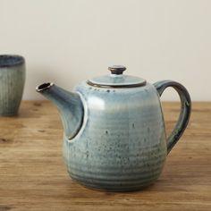 Broste Nordic Sea Stoneware Teapot - Trouva