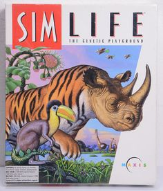 Sim Life 1992 Free Shipping. Vintage  Video Game for Macs. Find more wonderful Vintage Toys & Games by clicking on the link below! https://www.etsy.com/shop/VintageByDuran?section_id=20535371