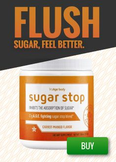 Flush sugar and feel better with Sugar Stop!