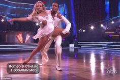 Dancing With The Stars Season 12 Spring 2011 Romeo Miller and Chelsie Hightower