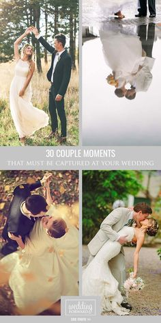 30 Couple Moments That Must Be Captured At Your Wedding ❤This gallery of beautiful couples moments during the wedding is sure to give you some inspirational ideas for your wedding album. See more:  http://www.weddingforward.com/wedding-photo-ideas-couple-moments-must-take/ #weddings # photography #moments