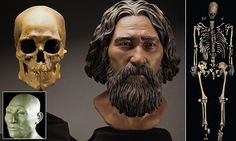 The hard life of Kennewick Man the first American - is revealed: Mysterious 9,000-year-old nomad skeleton found in Washington 'could have been Asian' had crack ribs, a spear in his hip and a wrecked shoulder.
