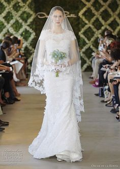 Oscar de la Renta Wedding Dress.