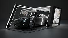 Booth para Cadillac on Behance