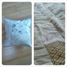 GypsyLuxe quilt & accent pillow in WinterLust at Vintage Jane (nothing beats artisan originals)