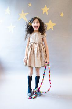 Partykins // ElizabethPettey Photography for Babiekins Magazine. Clothing by MyLitteDressUp and Marie-Chantal Children.