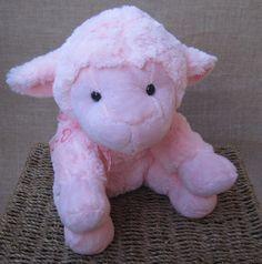 Carneiro de pelúcia rosa