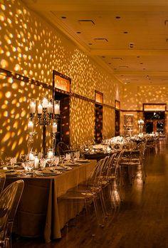 Wedding Lighting Ideas: Projection Pattern Lights | Brides.com