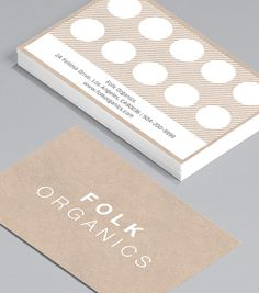 If you're looking for a clean, no frills design - Folk Organics is for you! The flexible format coupled with a loyalty card reverse, makes it ideal for health food shops, spas or anyone looking for something pure and simple with that extra incentive. Loyalty Card Design, Loyalty Card Template, Name Card Design, Loyalty Cards, Corporate Design, Member Card, Bussiness Card, Coffee Cards, Flyer