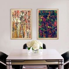 unique canvas like visual texture art prints giclee painting prints frame included
