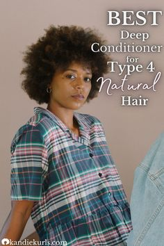 Type 4 hair is the driest of all the hair types. What this means is that people who belong to this group require extra moisture because their strands are prone to splintering and or breakage. One of the ways to combat this is by using a good deep conditioner. Here is what I consider to be one of the best deep conditioners for type 4 natural hair! #products #deep #conditoner #type4 #moisture #care #regimen #routine #natural #curly #hair Big Hair, Curly Hair, Short Hairstyles For Women, Cool Hairstyles, Natural Hair Care, Natural Hair Styles, Hair Topic, Hair Facts, Type 4 Hair