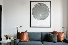 DAN MAZZARINI PARK SLOPE | LONNY.COM Interior Exterior, Interior Design, Deco Paris, Living Room Decor, Living Spaces, Masculine Interior, Masculine Apartment, Black And White Interior, Black White