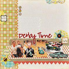 Derby Time - Scrapbook.com