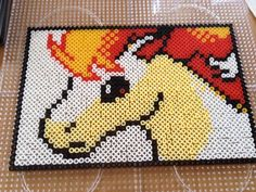 Ponyta - Pokemon perler beads by QueenChalo