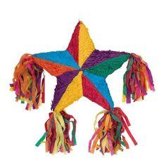 Colorful Star Shaped Piñata