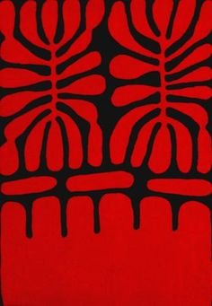 Mitjili Napurrula, an Australian Aboriginal artist, makes paintings that are as beautiful and simple as Matisse's paper cutouts. This site sells her work—and some of the pieces are quite reasonable. I have to love Pinterest for introducing her to me.