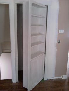 Great idea for a pantry or closet door......basement or terrace level door as well.....