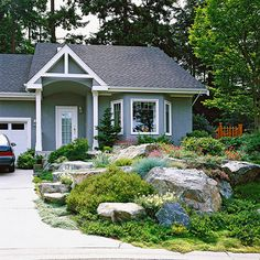 Garden Ideas Better Homes And Gardens front yard landscape secrets | front yards, yards and landscaping