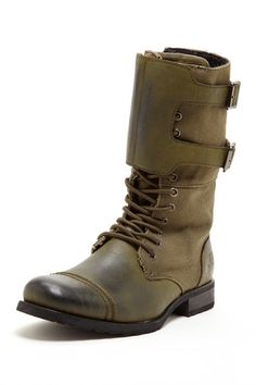 J75 by Jump: Valiant Military Boot, olive